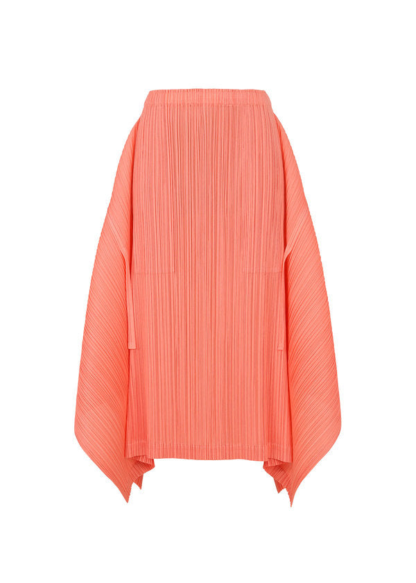 SHOOTING STAR PLAIN Skirt Coral Pink