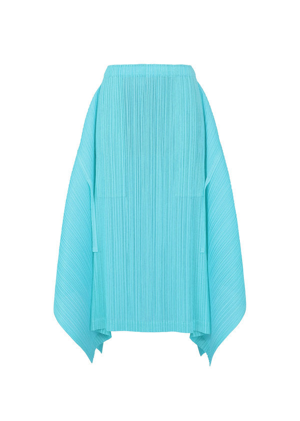 SHOOTING STAR PLAIN Skirt Light Blue