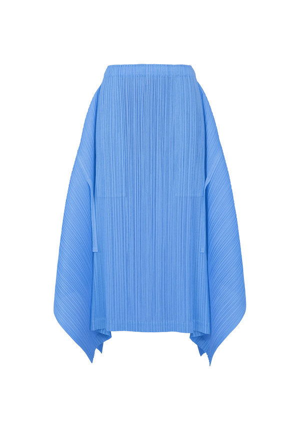 SHOOTING STAR PLAIN Skirt Blue