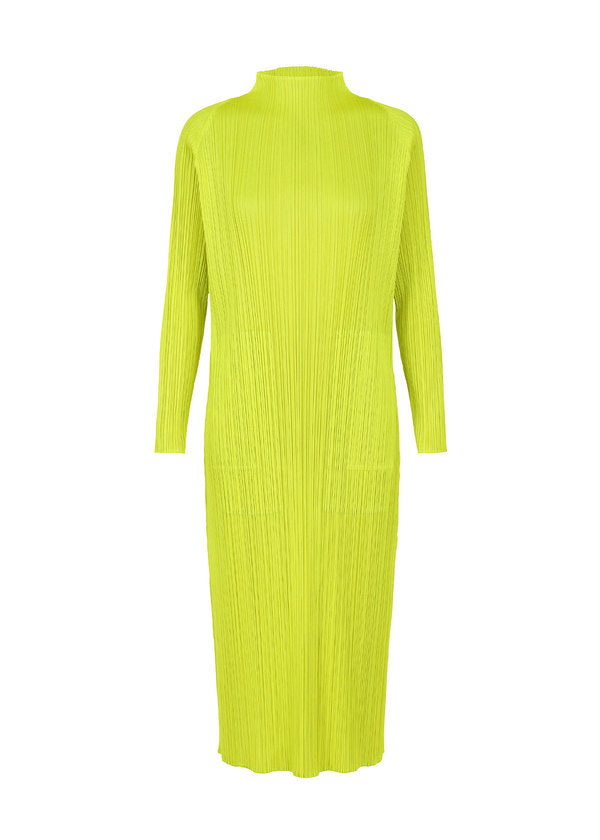 MONTHLY COLORS : FEBRUARY Dress Lime Green