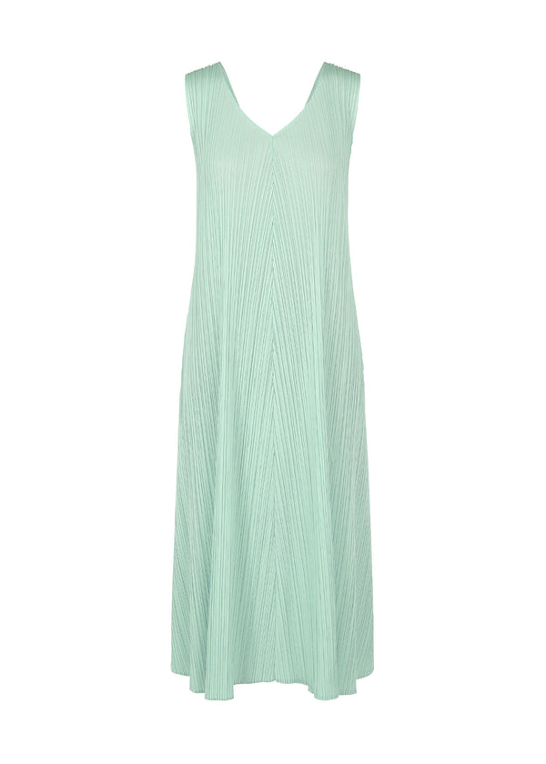MONTHLY COLORS : APRIL Dress Smoky Green