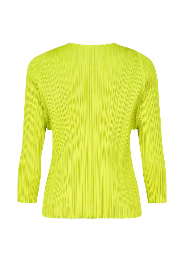 MONTHLY COLORS : FEBRUARY Top Lime Green