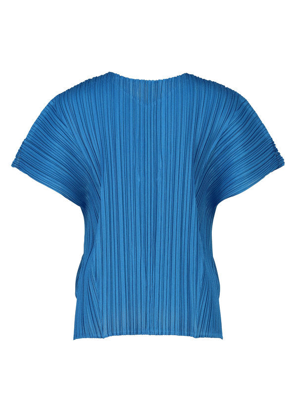 MELLOW PLEATS Top Blue