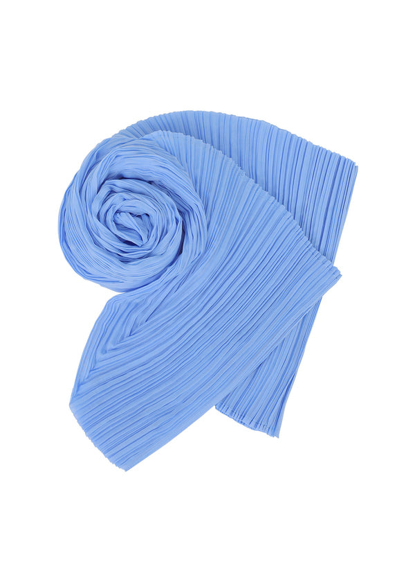 GIZAGIZA SCARF Stole Light Blue