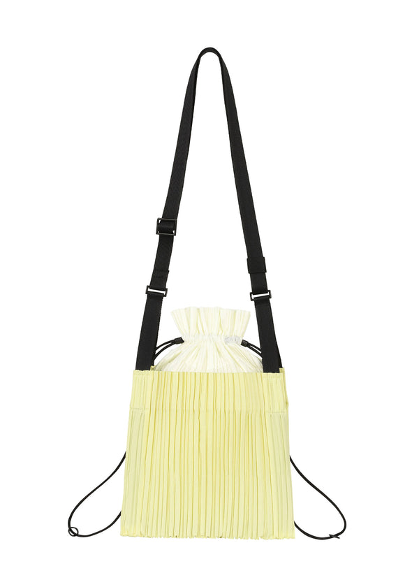 SQUARE PLEATS BAG Bag Baby Yellow