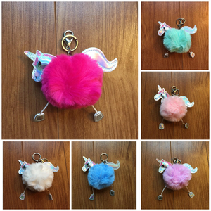 Fluffy Unicorn Charm