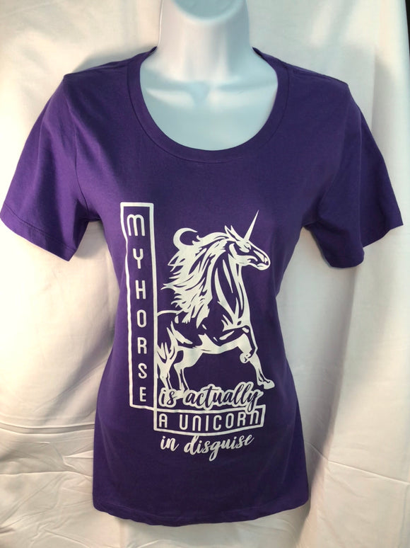 Unicorn Equestrian T Shirt