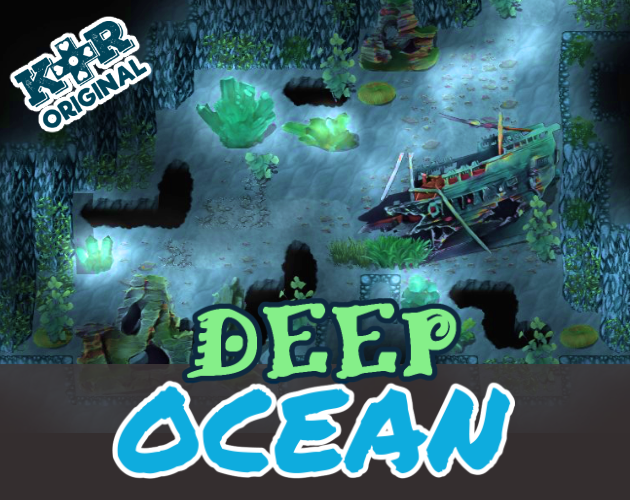 KR Deep Ocean Underwater Tiles for RPGs