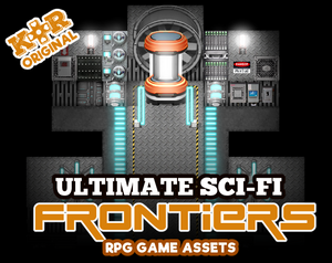KR Ultimate Sci-Fi Frontiers Tileset + Animations for RPGs