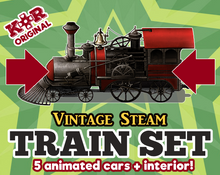Load image into Gallery viewer, KR Vintage Steam Train Set for RPGs