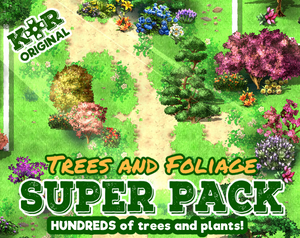 KR Trees and Foliage Super Pack for RPGs