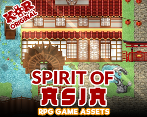 KR Spirit of Asia RPG Tileset