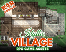 Load image into Gallery viewer, KR Idyllic Village Tileset for RPGs