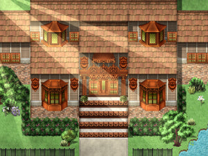 KR Victorian Mansion Tileset for RPGs