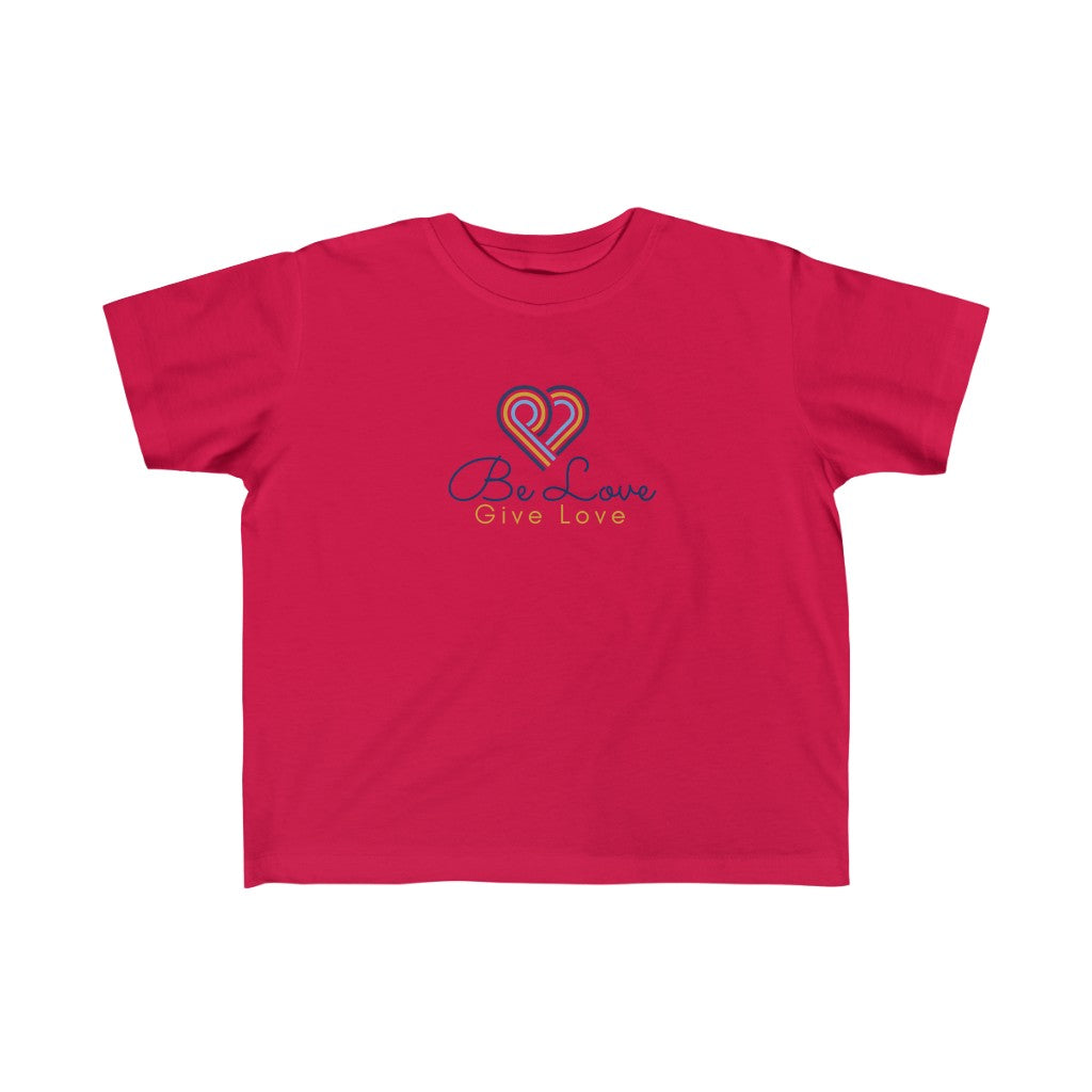 Be Love Give Love Kid's Fine Jersey Tee