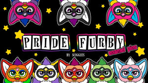 Pride Furby: Enamel Pins - Launched on Kickstarter!