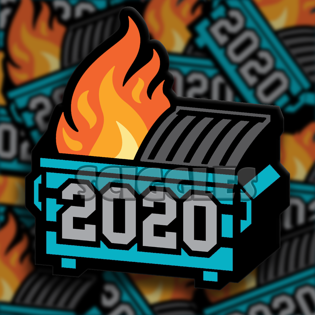 2020 - A Dumpster Fire of a Year Coffee Mug, Mugs - Sciggles