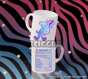Nutritional Info of the Zodiac Coffee Mugs, Mugs - Sciggles