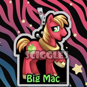 Pony Badges - Main Characters, Badges, Badges, Customizeable, Pony, Wearable - Sciggles