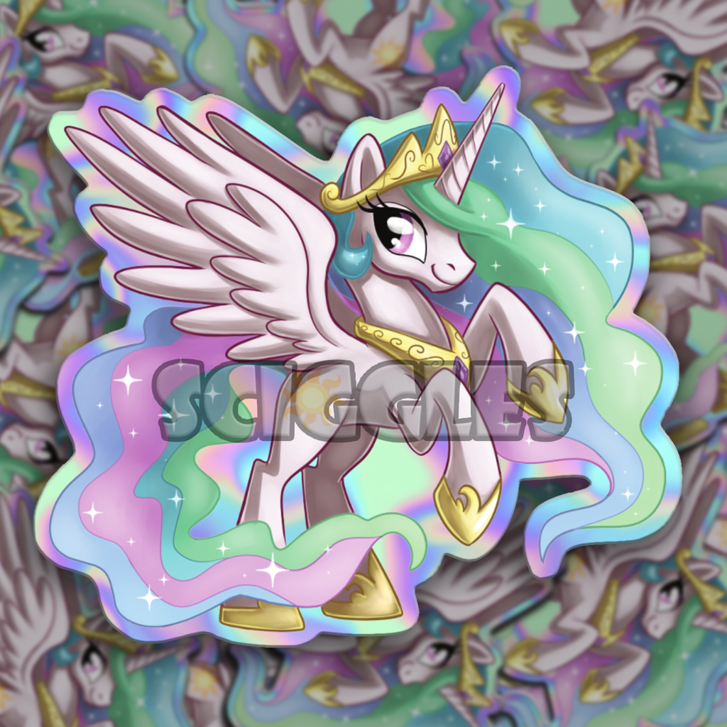 "Pony 3"" Vinyl Stickers, Stickers, Pony, Stickers - Sciggles"