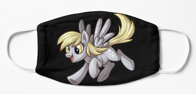 Pony Face Masks, Face Masks, Face Masks, Pony, Sublimation, Wearable - Sciggles