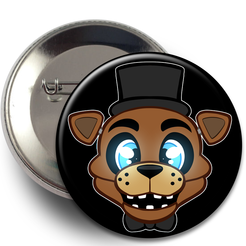 Buttons - FNAF, Buttons - Sciggles