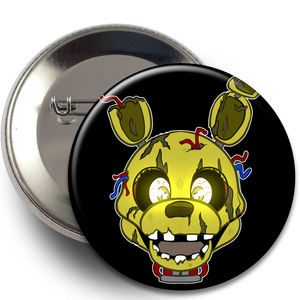 Buttons - FNAF, Buttons, Buttons, FNAF, Gaming, Wearable - Sciggles