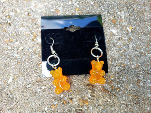 Gummy Bear Earrings, Earrings - Sciggles
