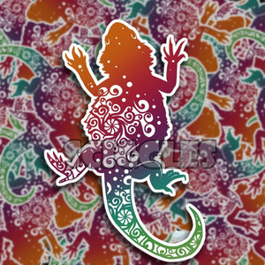 "Bearded Dragon 3"" Stickers, Stickers - Sciggles"