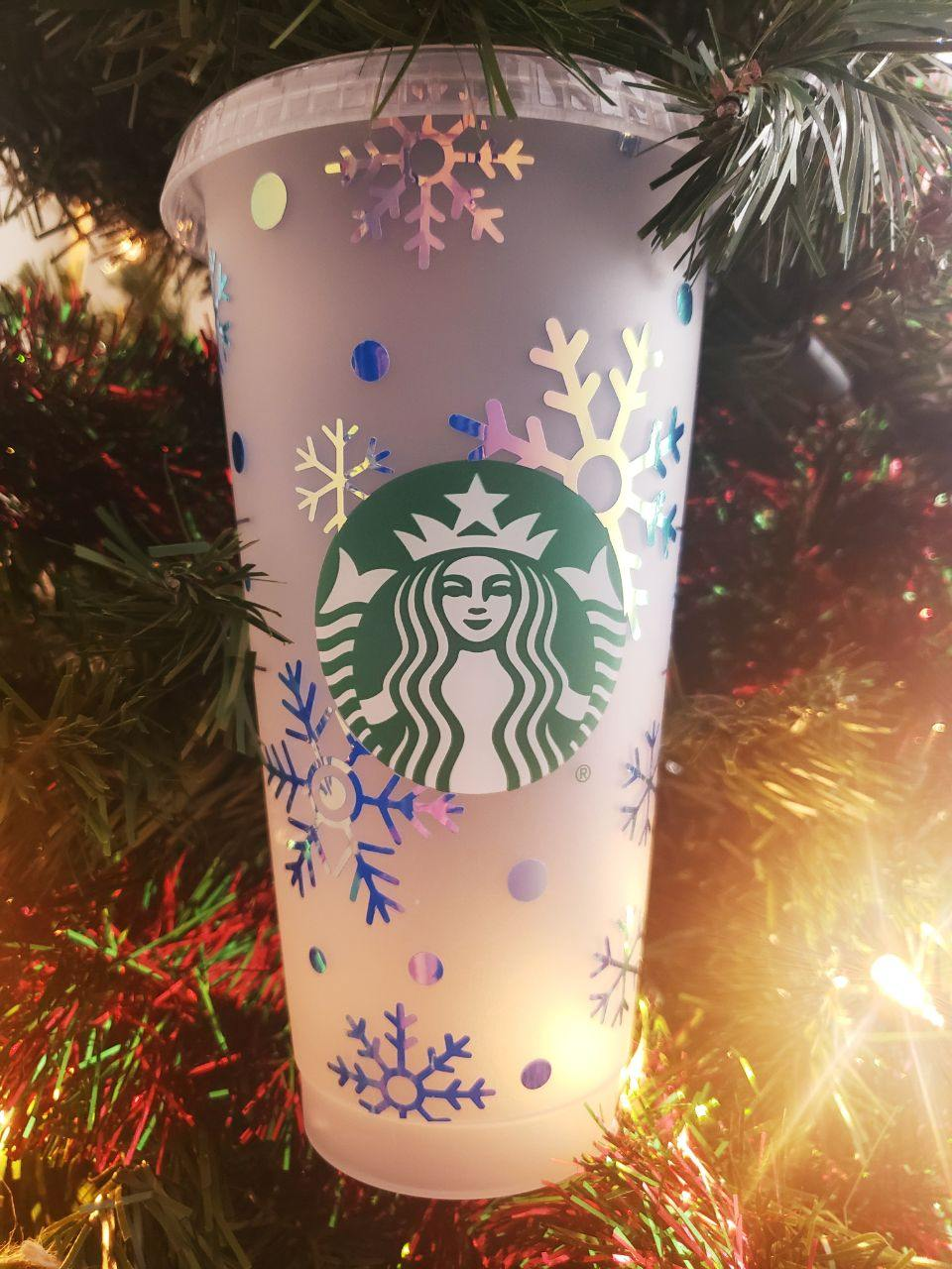 Winter Snowfall Cold Cup