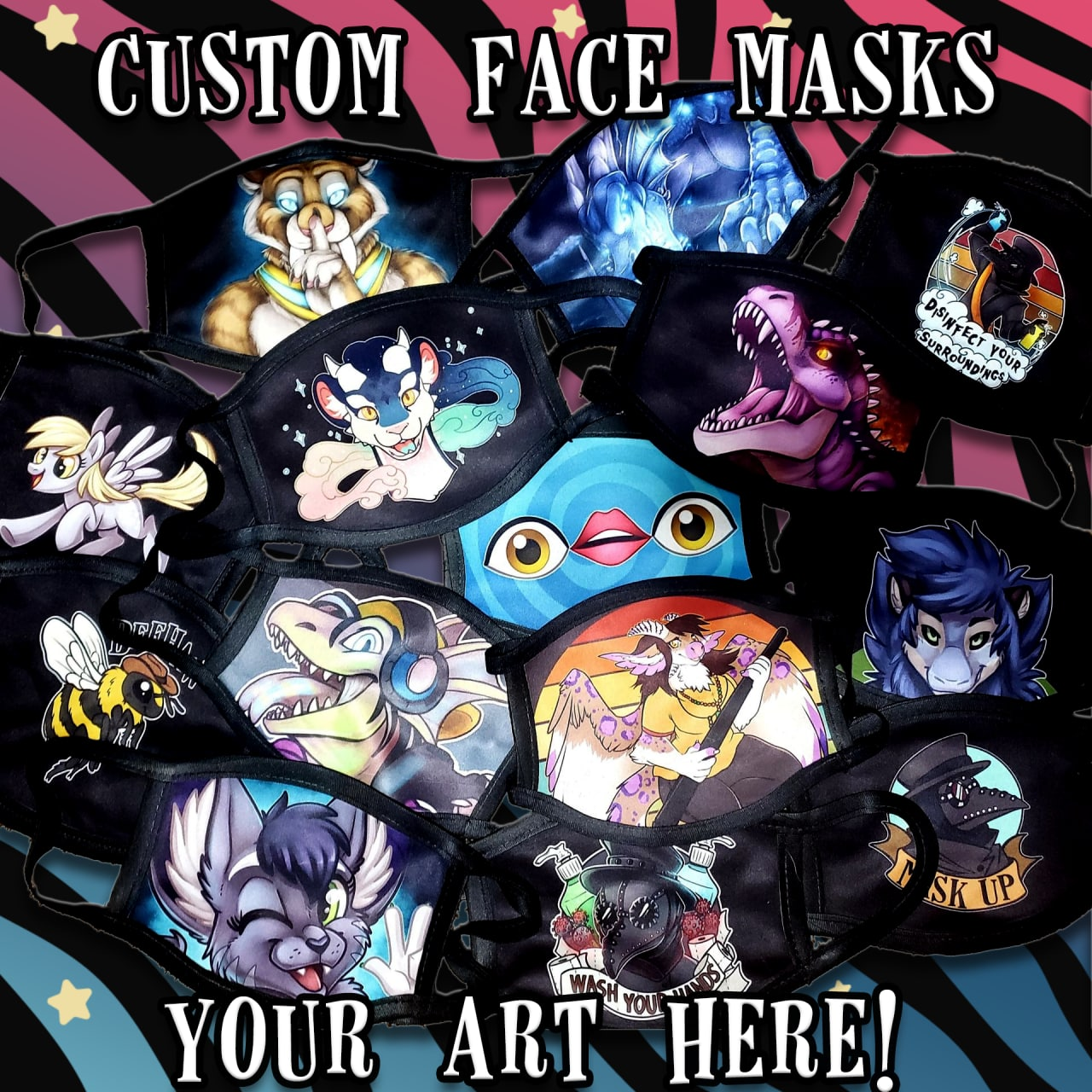 Face Masks - Custom