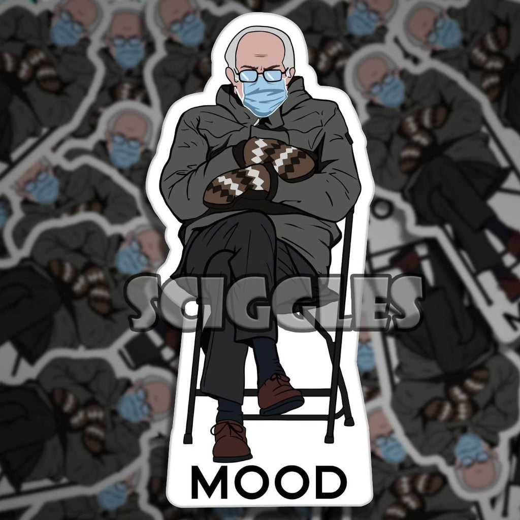 Sticker - Cold Bernie is Mood, Stickers - Sciggles