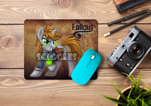 Pony Mousepads - Fallout Equestria, Mousepads, Customizeable, Fallout, Mousepad, Pony, Sublimation - Sciggles