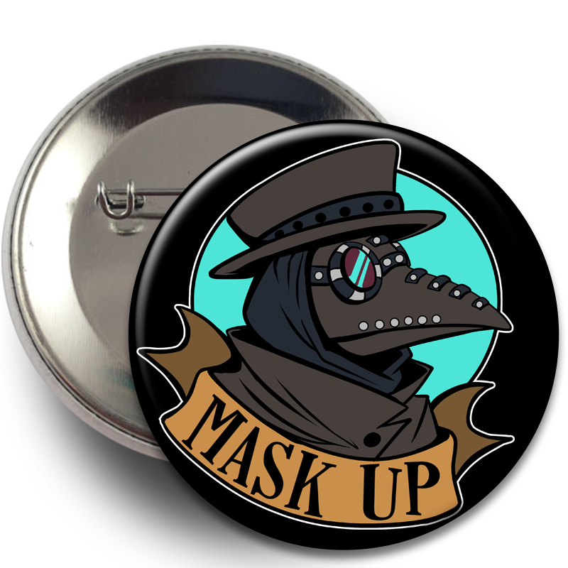Badges - Plague Doctor, Badges - Sciggles