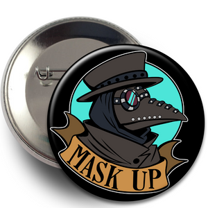 Buttons - Plague Doctor, Buttons - Sciggles