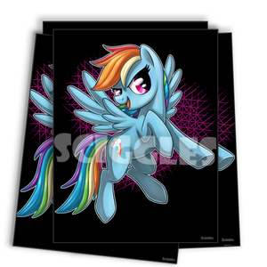 "Pony Mini Prints -  4""x6"" - Canon Characters, Prints - Sciggles"