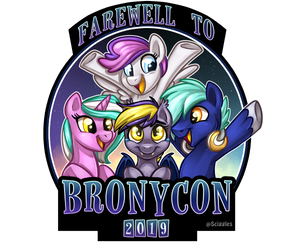 Pony Badges - Retired Convention Mascots, Badges, Badges, Customizeable, Limited Edition, Pony, Wearable - Sciggles