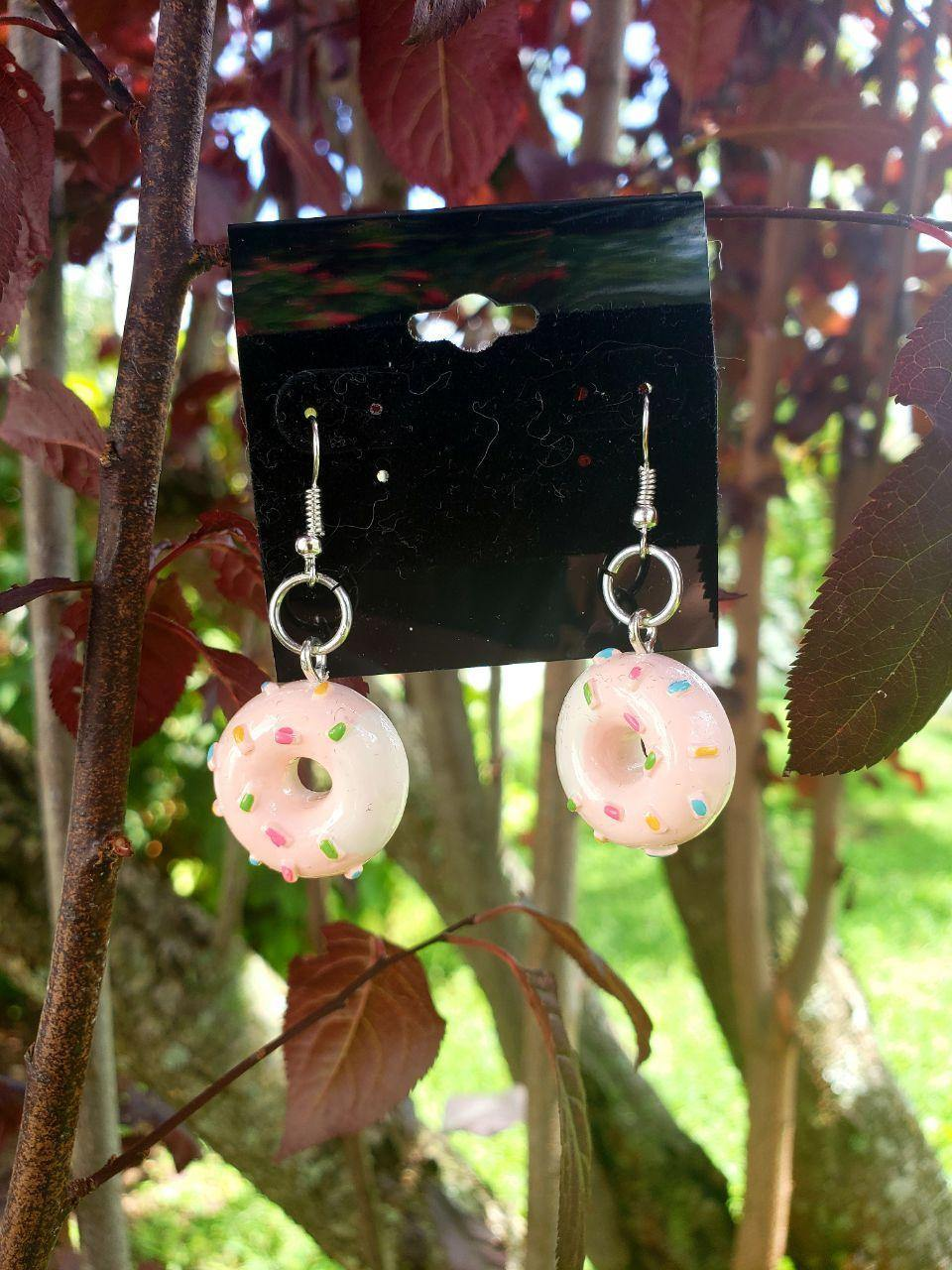 Donut Earrings, Earrings - Sciggles