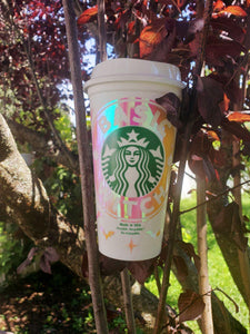 Basic Witch Hot Cups, Cups, Cups, Customizeable, Halloween/Fall, Limited Edition, Starbucks - Sciggles