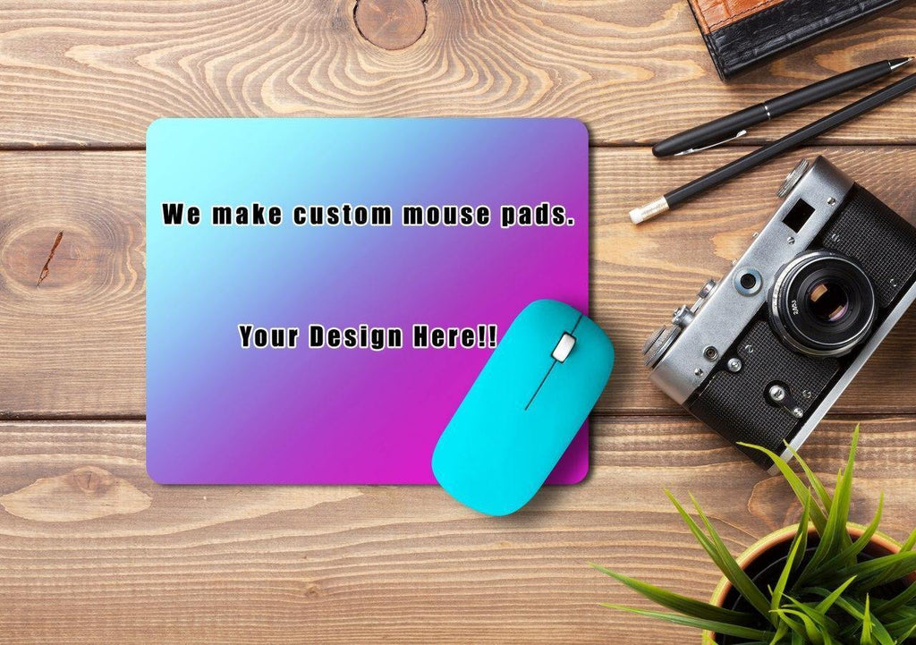 Custom Mousepad, Mousepads, Customizeable, Mousepad, Sublimation - Sciggles
