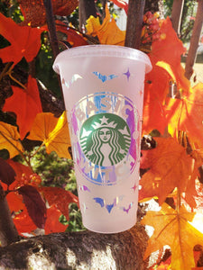 Basic Witch Cold Cup, Cups, Cups, Customizeable, Halloween/Fall, Limited Edition, Starbucks - Sciggles