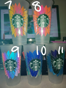 Limited First Run Cold Cups, Cups, Cups, Customizeable, Limited Edition, Starbucks - Sciggles