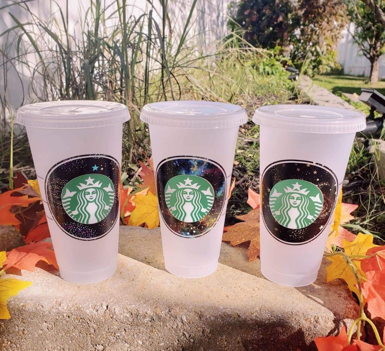 Simple Space Custom Cold Cup, Cups, Cups, Customizeable, Starbucks - Sciggles
