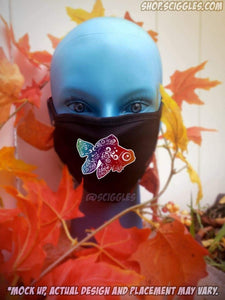 Face Masks - Mandala Goldfish, Face Masks - Sciggles