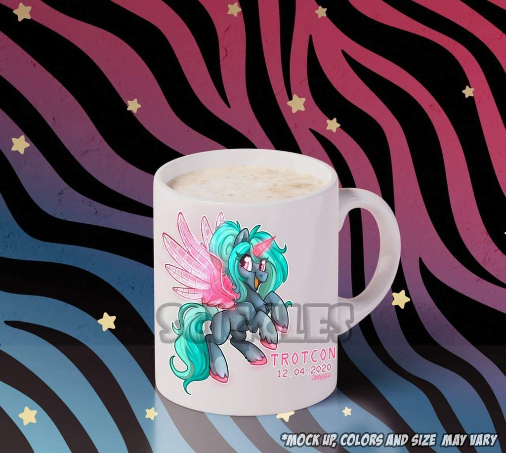 Pony Coffee Mug - TrotCon Online 2: Snow Day, Mugs - Sciggles