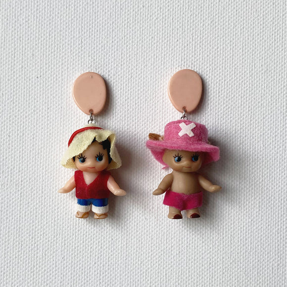 One Piece Kewpie Earrings
