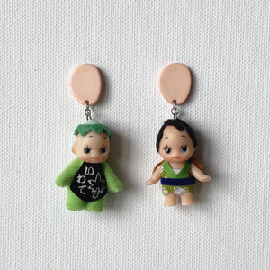 Kappa x Fisherman Kewpie Earrings