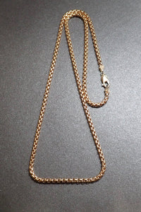 14 K GOLD VENETIAN NECKLACE - TICK