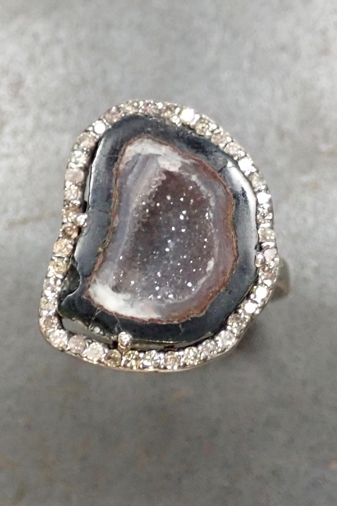 BIG DRUZY & DIAMONDS RING