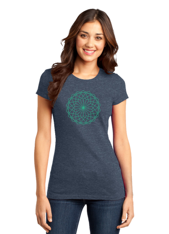 FinOps Fractal Pattern Tee (Ladies)